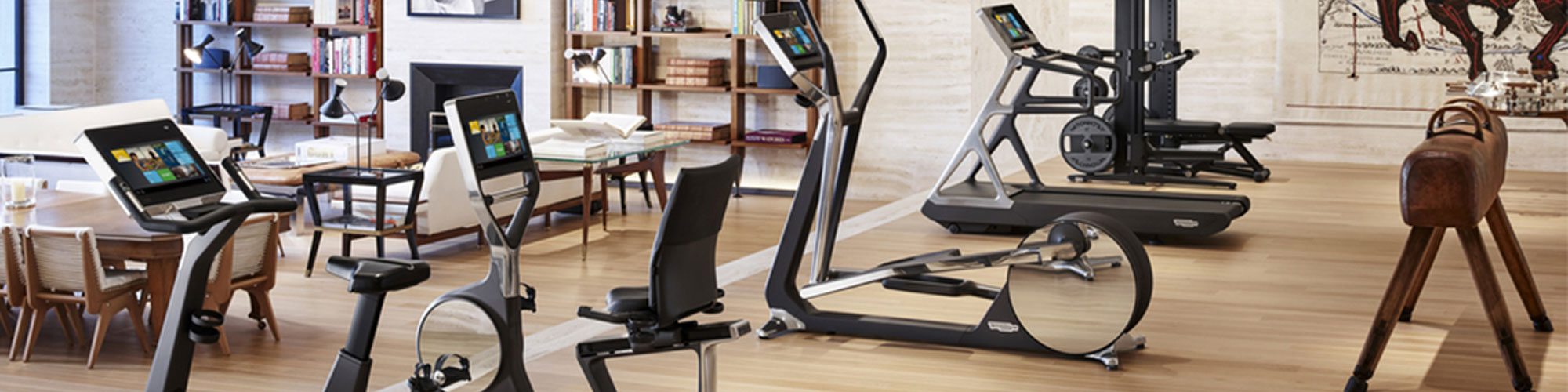 Range of wellness exercise machines