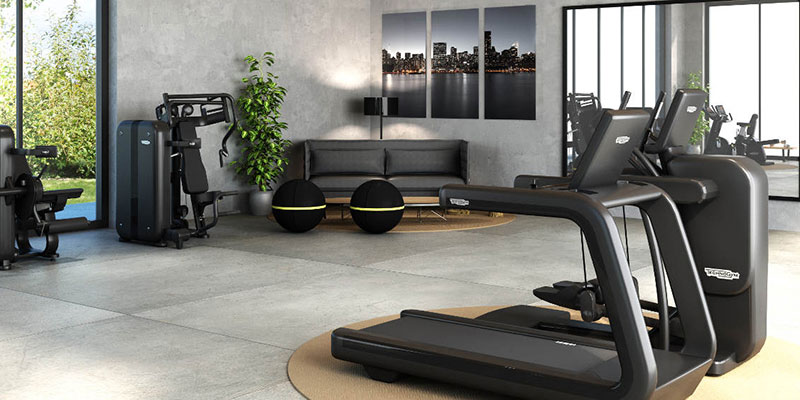 Domestic gym designed by CYC Fitness