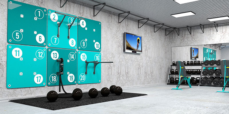 Bespoke commercial gym
