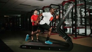 Train with Watts on the HiTrainer ATP+ Treadmill