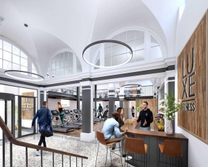 Bristol's breathtaking Luxe Fitness, CYC's most decadent design to date.