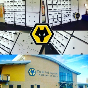 First UK ground-drilled Training Wall takes up residence at Wolverhampton Wanderers