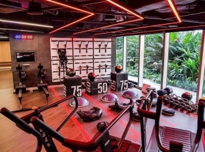 How clever utilisation of floor space enhances the workout experience