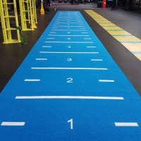 UK made sprint lane and prowler sled tracks now available