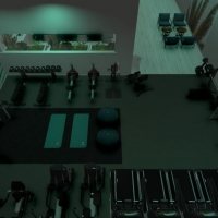 Boutique gym design and facility planning at CYC Fitness.