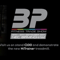The launch of the HiTrainer - BP Fitness Trade Show, 12th & 13th September.