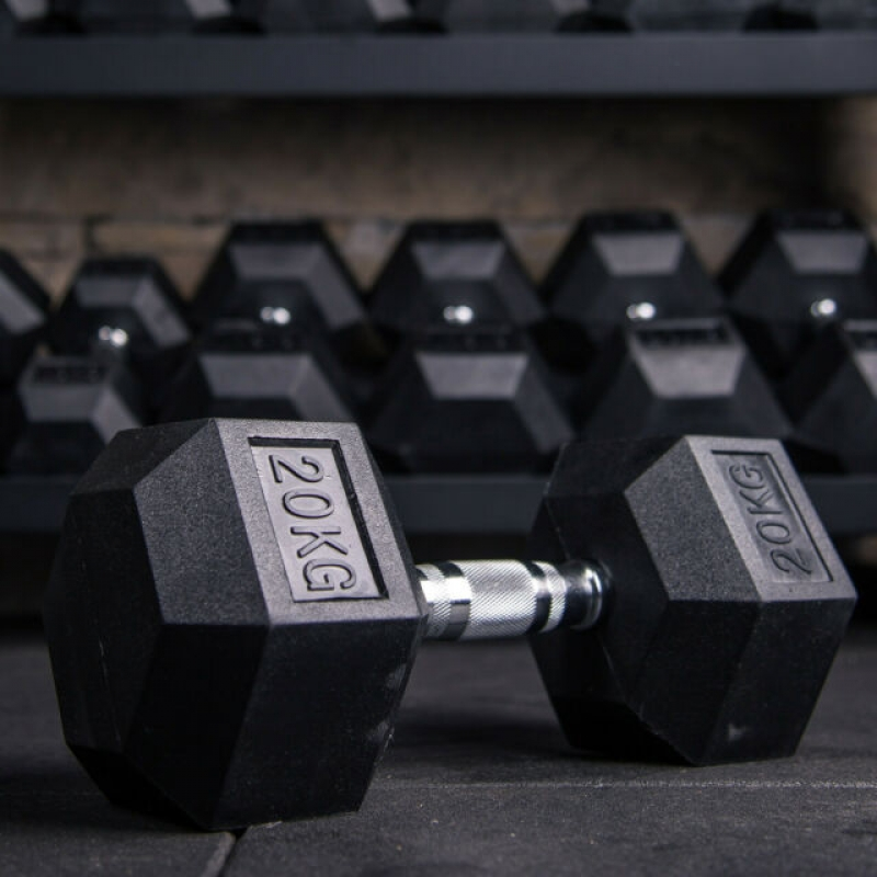 32.5 - 40kg Set of Dumbbells