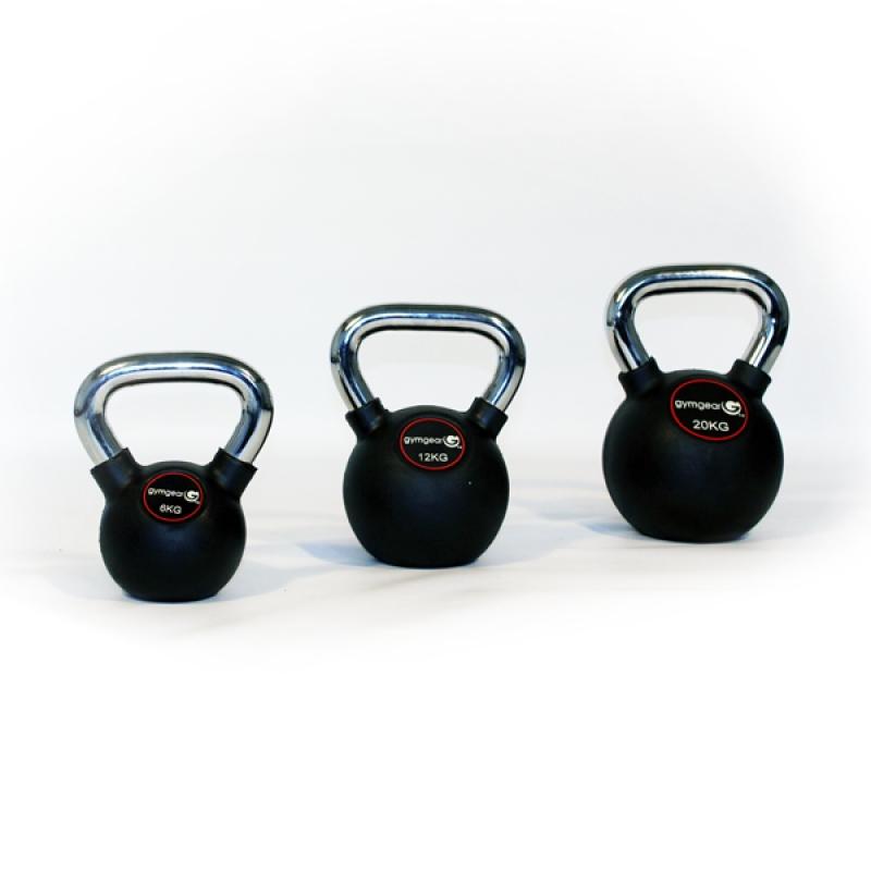 Chrome Handle Kettlebell