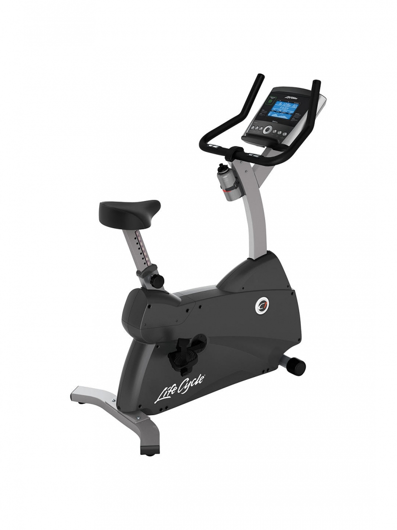 Life Fitness C1 Upright Lifecycle with Go Console