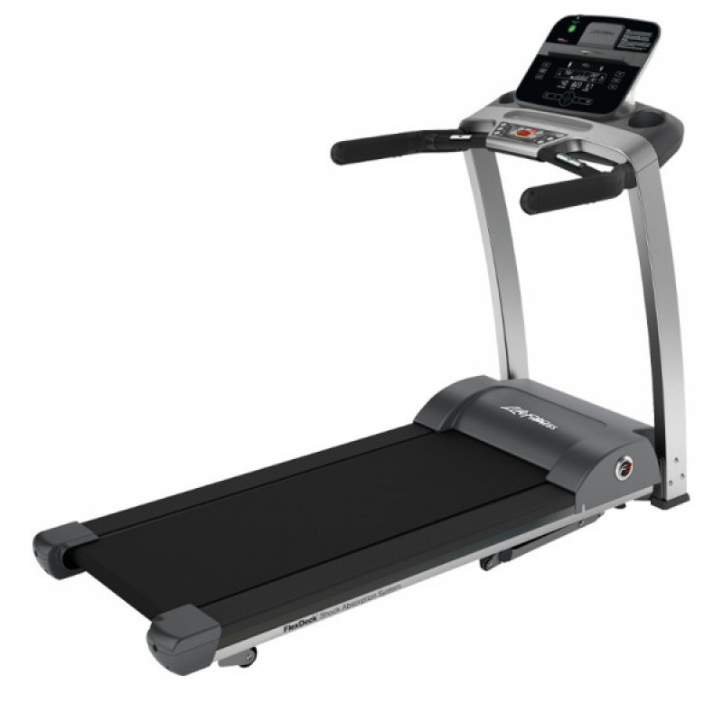 Life Fitness F3 Folding Treadmill Track Connect Console