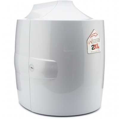Contemporary Dispenser - White