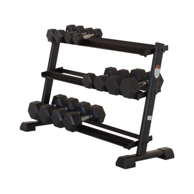 3 Tier 12 Pair Dumbbell Rack