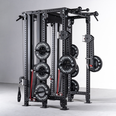 Younix® Back-To-Back Rack