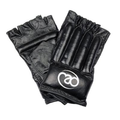 Fingerless Leather Bag Mitts