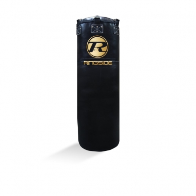 Jumbo Buffalo Leather Bag G2 - Black / Gold