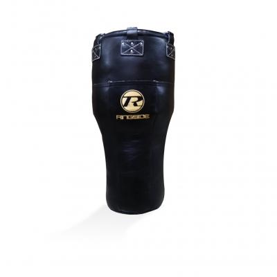 Angle Buffalo Leather Bag G2 - Black / Gold