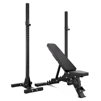 Adjustable Bench And Squat Stand Bundle