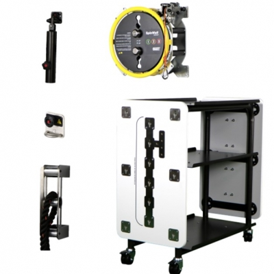 Training Wall®  Functional Storage Trolley + Spin Wall Compact