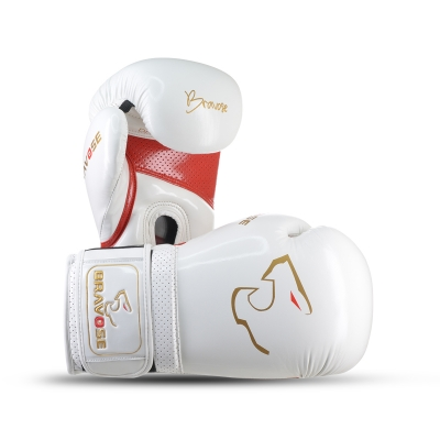 Alpha Boxing Gloves White / Red