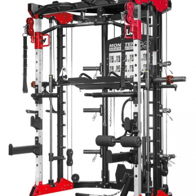 Force G9 All In One Functional Trainer Red