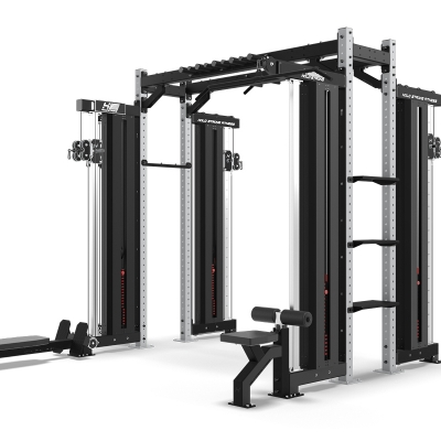 HOLD STRONG Fitness Elite Cable Pull Training Station 5