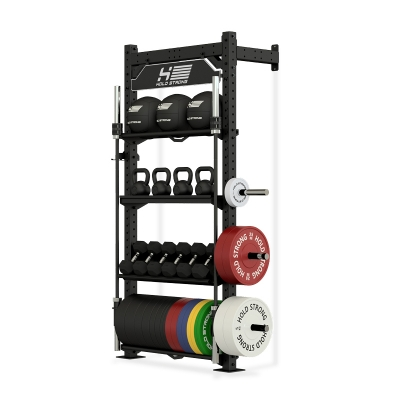 HOLD STRONG Fitness ELITE Storage Rack with Squat Station / Without Squat Station