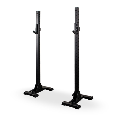 HOLD STRONG ELITE Squat Stands with transport wheels incl. J-Cups