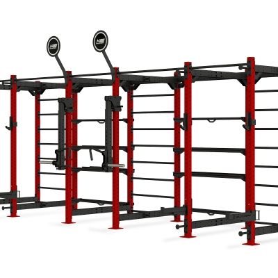 HOLD STRONG Fitness ELITE RIG incl. Storage - Freestanding
