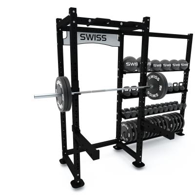 Swiss Barbell Half Rack + Storage