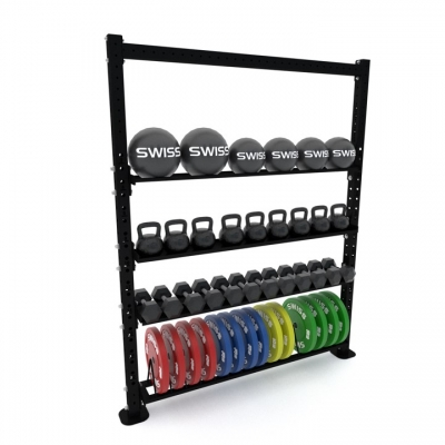 Swiss Barbell Solo Storage System