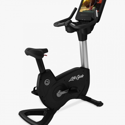 Life Fitness Platinum Series Discover Upright Bike with SE3HD Console