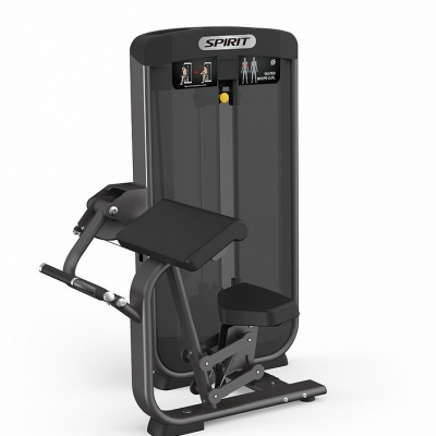 Spirit Fitness Seated Bicep Curl