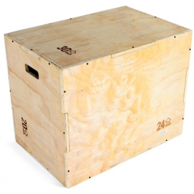 Swiss Barbell 3 in 1 Wooden Plyo Box